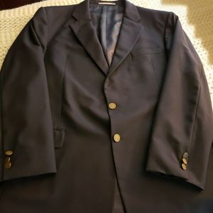 NWOT💞HICKEY FREEMAN MEN'S WOOL NAVY BLAZER💞